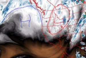 High pressure coming again to Central Oregon